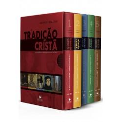 Box Tradição cristã, A - vols. 1a 5 (Jaroslav Pelikan)