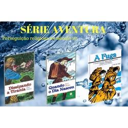 Combo 3 Livros Série Aventuras para adolescente (fugindo da perseguição religiosa)