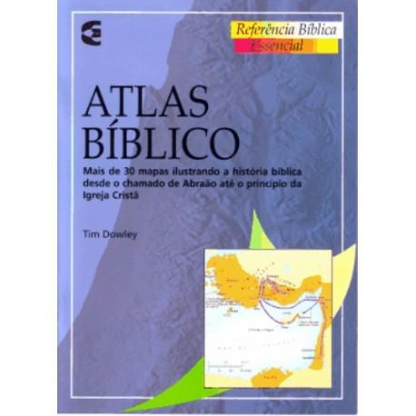 Atlas Bíblico 30 mapas ilustrados referências bíblicas essenciais