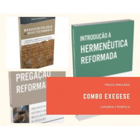 Combo 3 livros Série Da Exegese à Pregação (Paulo Anglada)