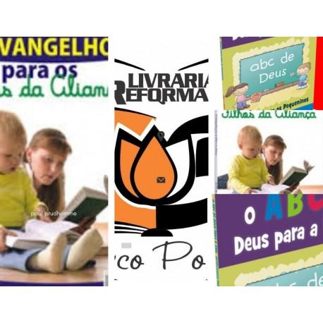 Combo 2 livros Série Discipulando as crianças