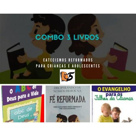 Combo 3 Livros Série Catecismos infantis (Joel Beeke, Tokashiki)