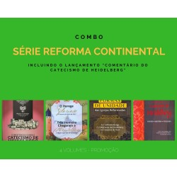 Combo 3 livros Série Reforma Continental (Símbolos de fé das Igrejas Reformadas)