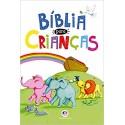 Bíblia para crianças capa luxo folhas coloridas