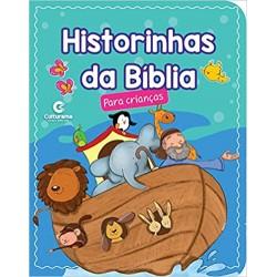 HISTÓRIAS DA BIBLIA PARA CRIANCAS capa luxo, folhas de papelão plastificada